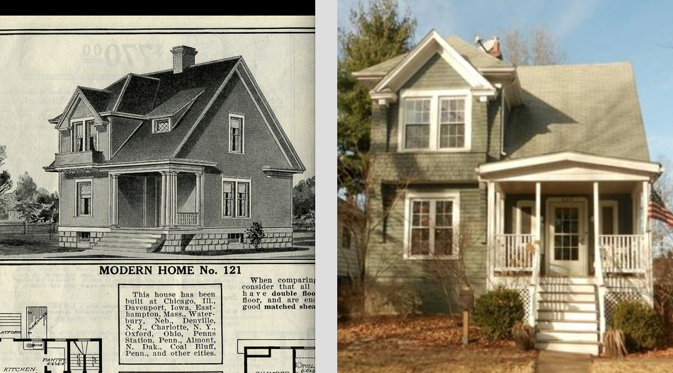 Sears house seeker sears altona or not in webster groves mo the atalanta home does not have the little dormer and the front porch we see is an addition in front of the original malvernweather Image collections