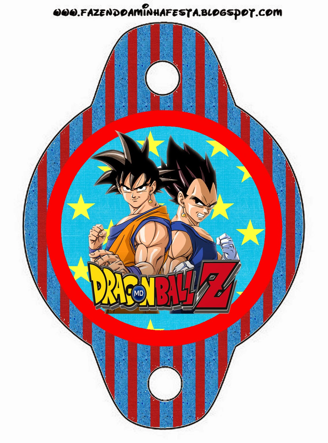 photo about Dragon Ball Z Printable titled Dragon Ball Z Free of charge Social gathering Printables. - Oh My Fiesta! in just english
