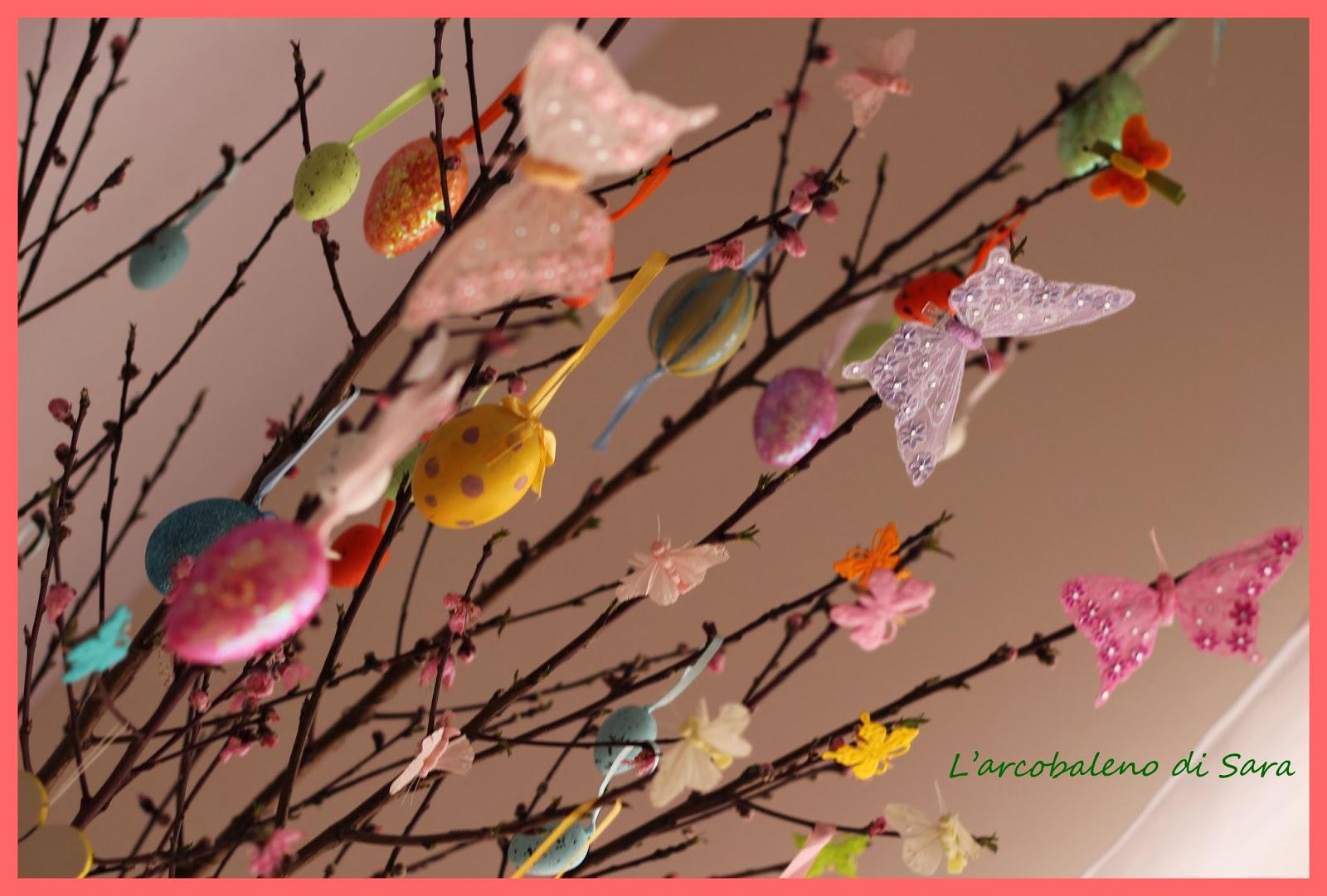 dettagli albero di Pasqua