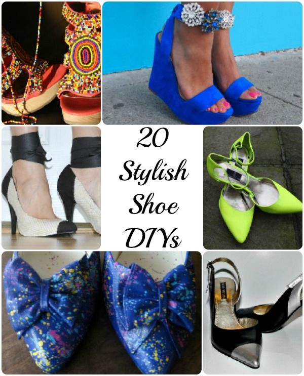 20 DIY Shoe Projects