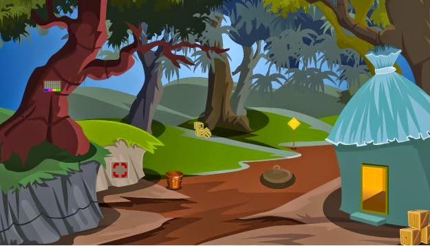 The Escape Games Escape with hidden skulls