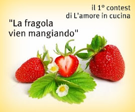 partecipo al contest di L' amore in cucina