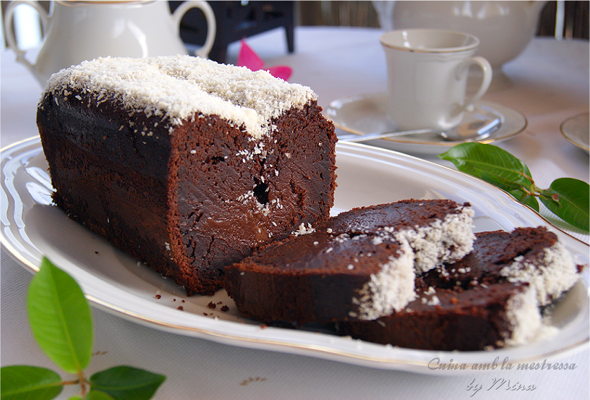 Plum-Cake de chocolate y coco...