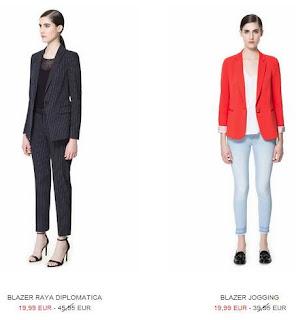 blazer de zara moda 2013 españa