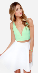 http://www.lulus.com/products/deep-thoughts-mint-green-crop-top/131514.html