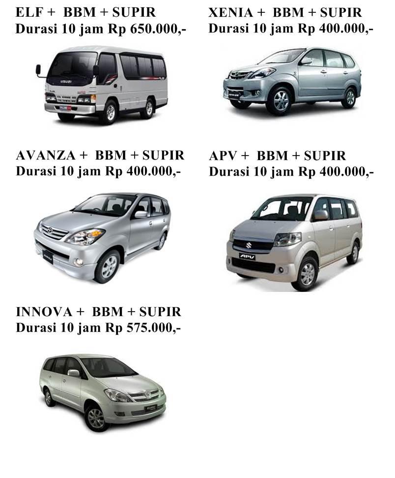 Sewa Mobil Di Bali Plus Sopir Dan Bbm Jatayu Rental ...
