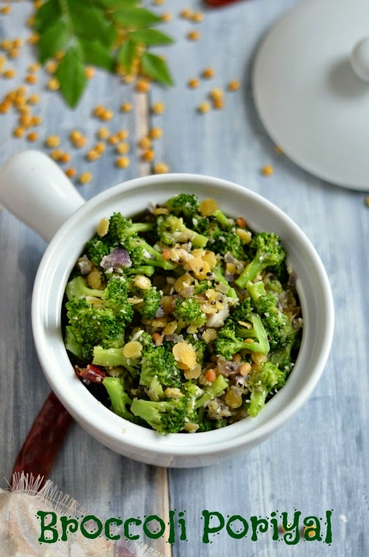 Broccoli Poriyal Fry/poriyal With Broccoli