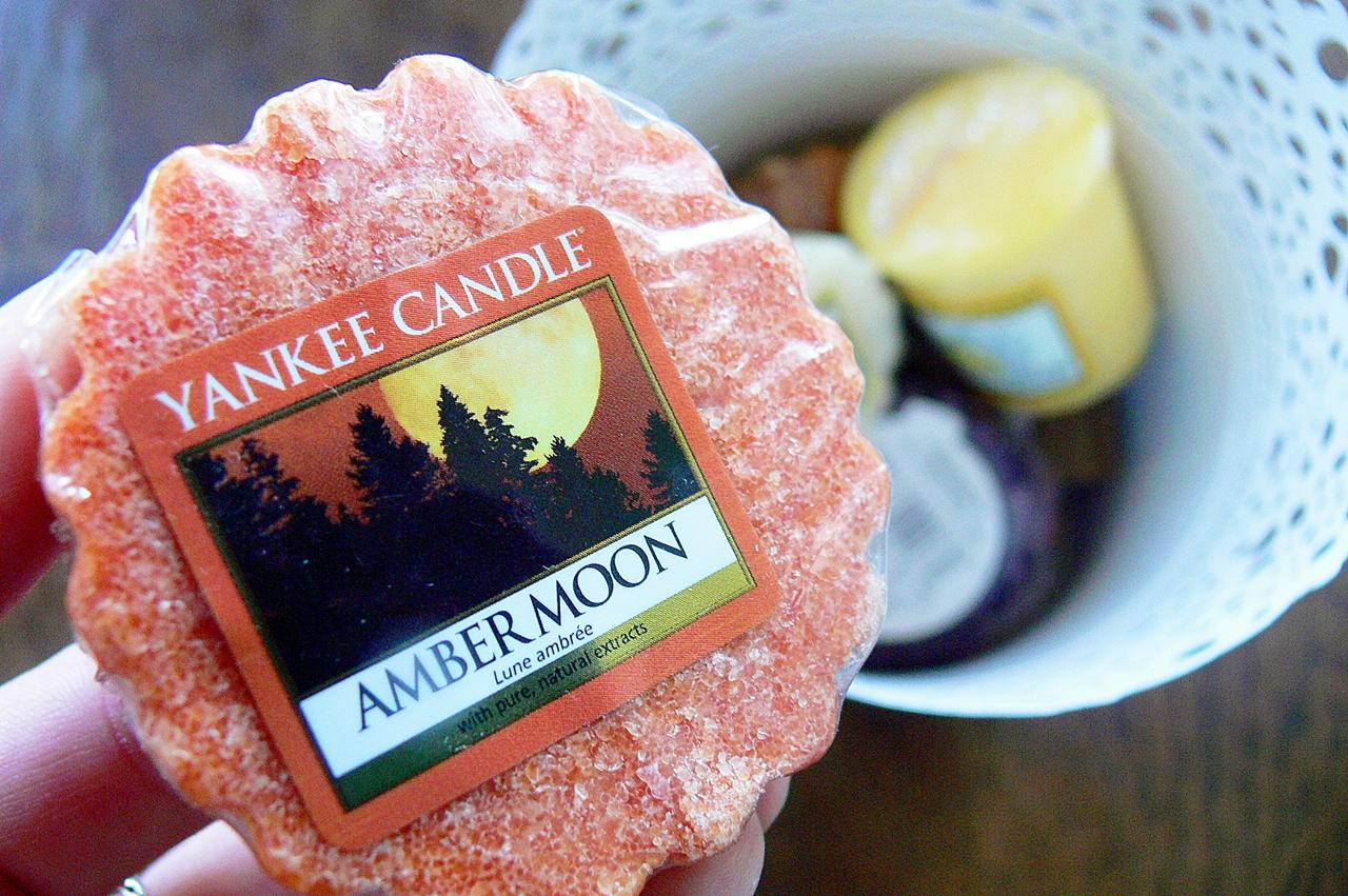 Yankee Candle - Amber Moon - seria jesienna