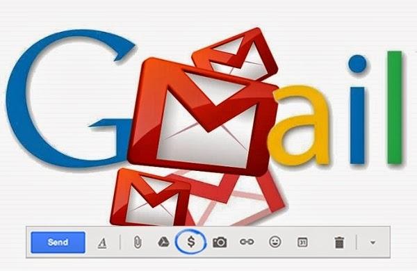 Gmail ile para gönderin, para alın...