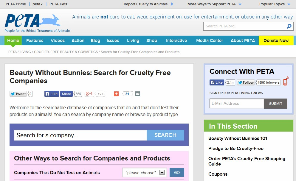 http://features.peta.org/cruelty-free-company-search/index.aspx