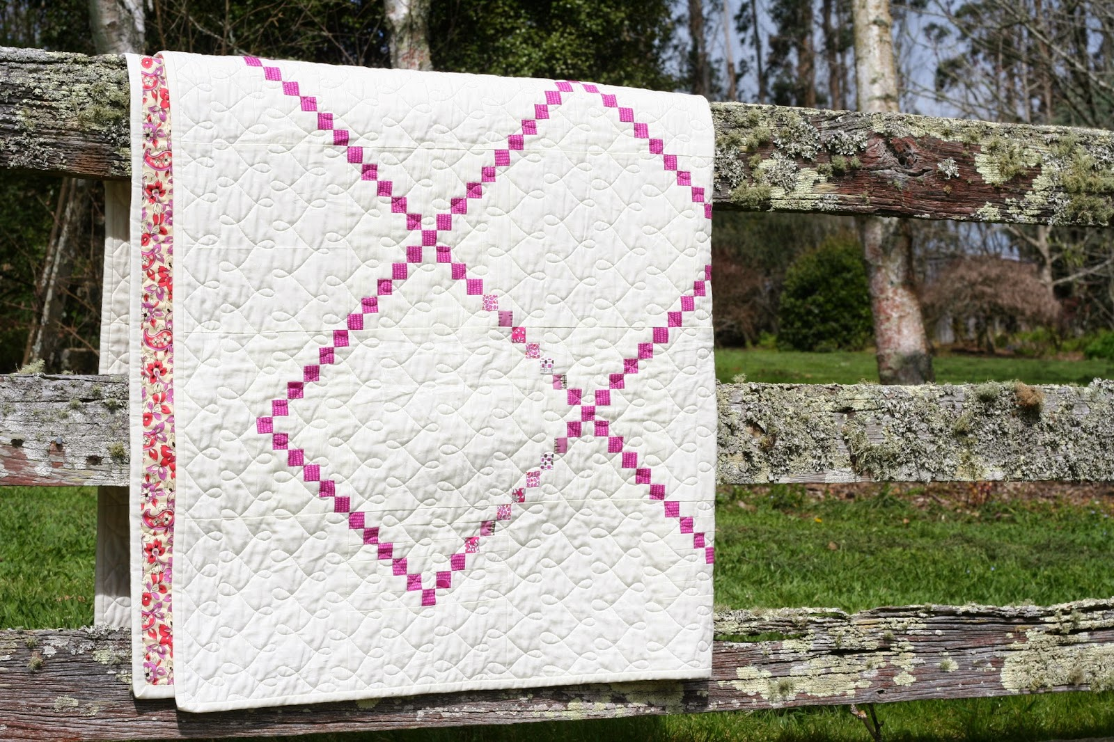 wooden spoon quilts: Irish Chain Quilt