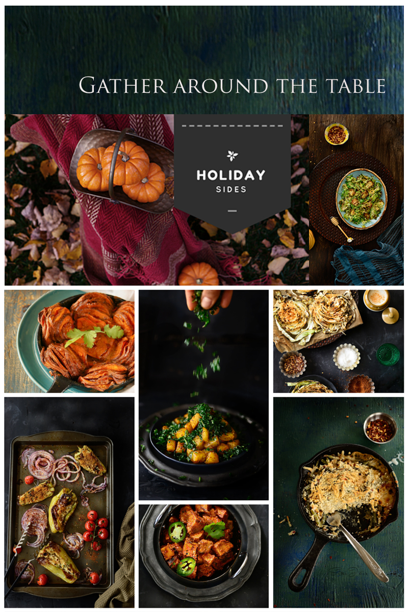 Vegan, Vegetarian, Holiday sides, Easy recipes, Veggies, Simple, Thanksgiving, Christmas, New year, Simi JoisPhotography