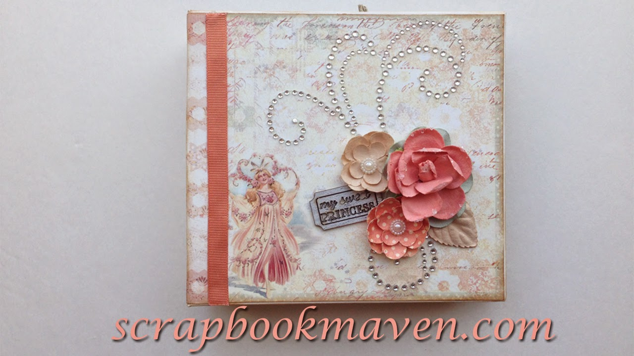 Prima Princess 6x6 Mini Album for scrapbookmaven.com