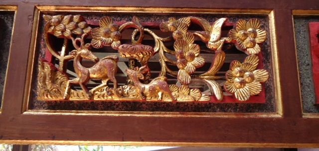 Antique Peranakan 土生华人文物 A Peranakan Chinese Brown And