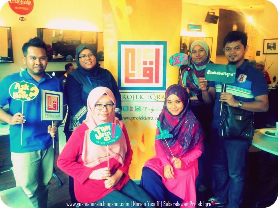Sertai Projek Iqra' Bagi Membantu Anak Yatim Dan Yang Memerlukan