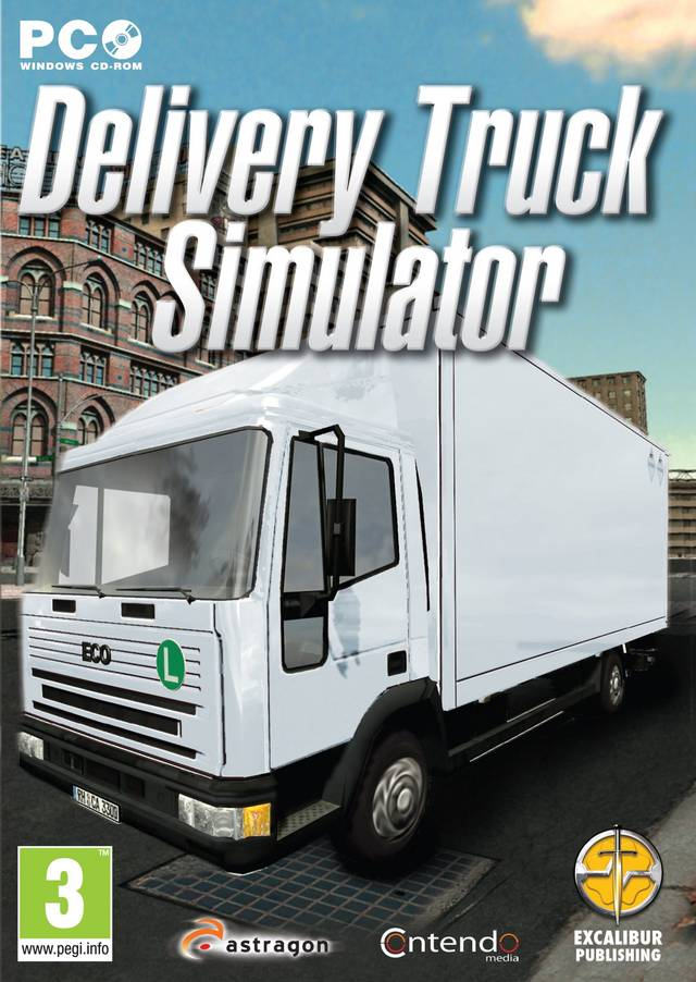Delivery Truck Simulator PC game 2012