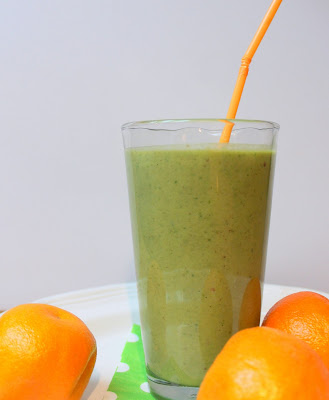 green smoothie, recipe, spinach