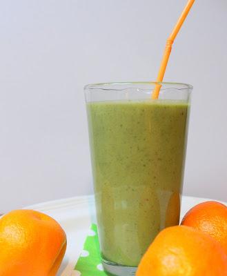 green smoothie, recipe, spinach