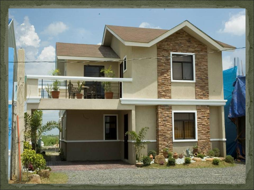 Ruby dream home designs of lb lapuz architects builders for House garage design philippines