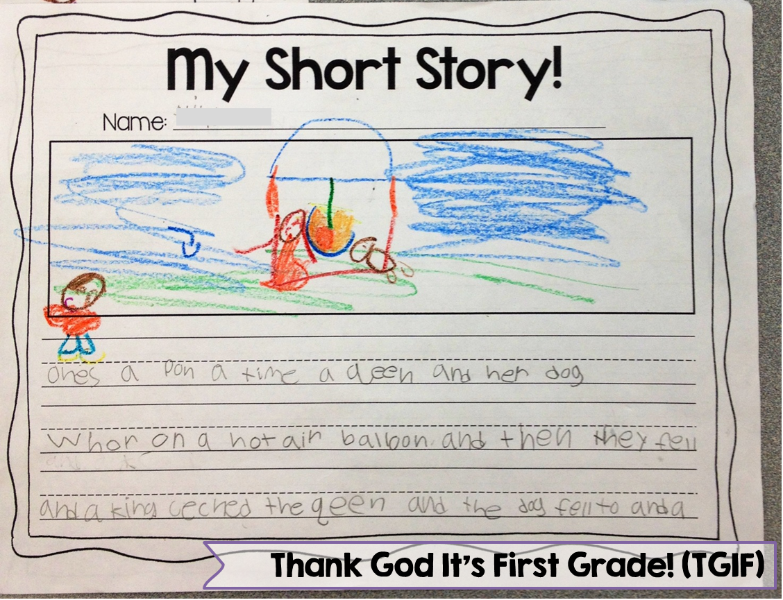 short story writing kids