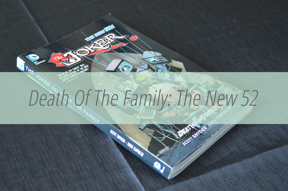 Death of the family Batman comic review