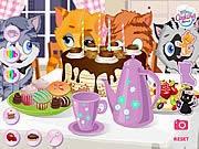 Game bữa tiệc của mèo