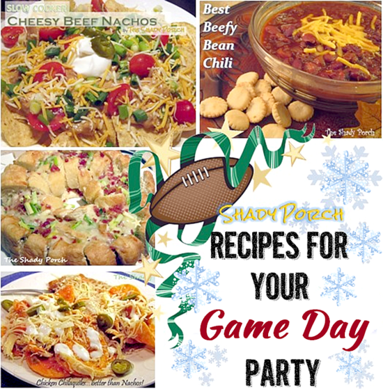 Recipes for Your GameDay Party