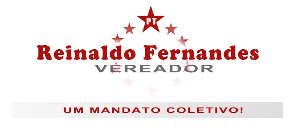 Vereador Reinaldo Fernandes - PT