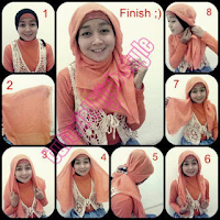 Hijab Segi Empat Terbaru 2015