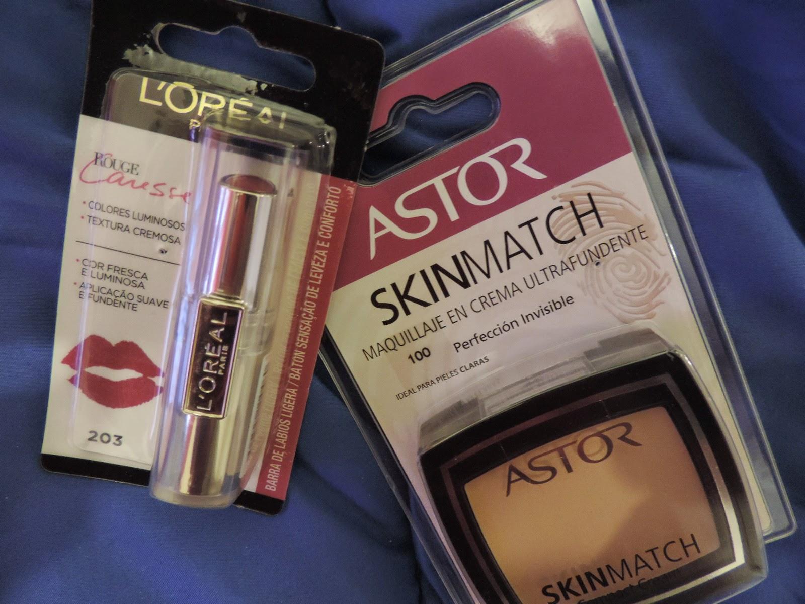 Compras de maquillaje en Carrefour