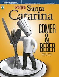Blog Garfadas no júri da Veja Comer & Beber SC 12/13