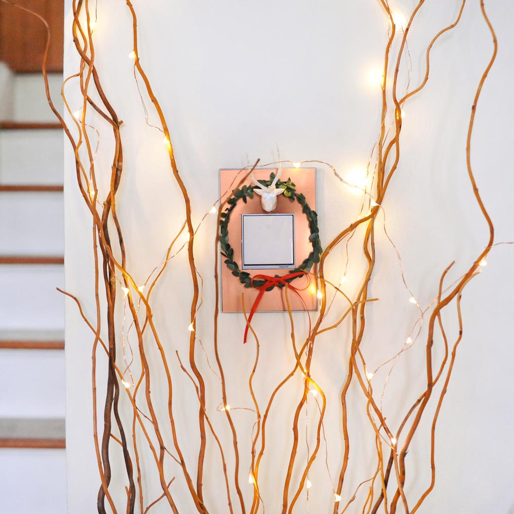DIY Custom Holiday Wall Plate adorne by Legrand