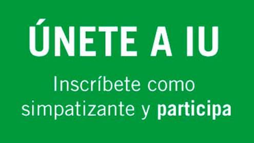 CAMPAÑA DE SIMPATIZANTES A IU