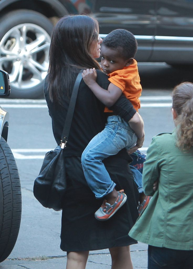 Sandra Bullock has adopted a girl