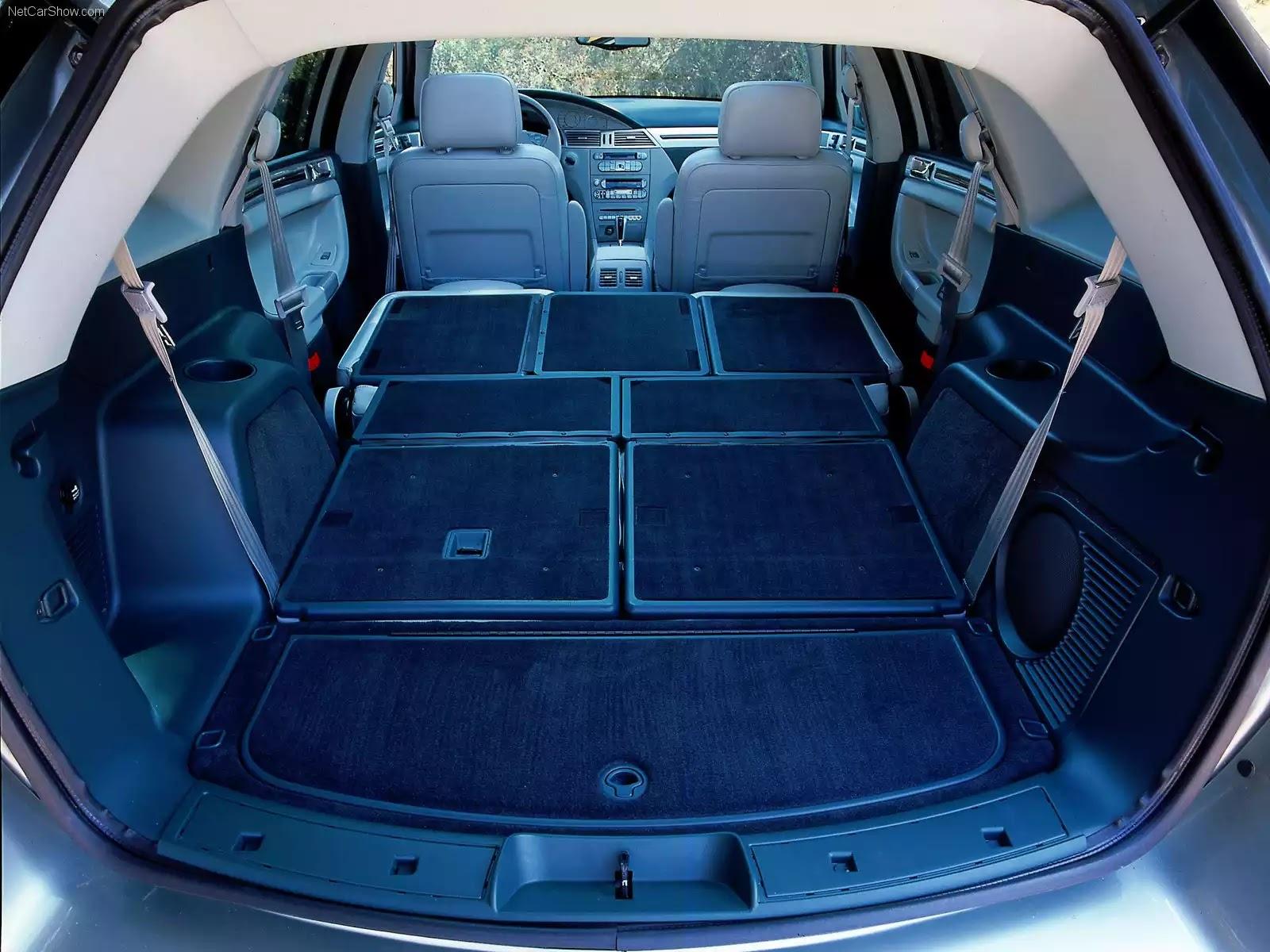 Hình ảnh xe ô tô Chrysler Pacifica Concept 2002 & nội ngoại thất