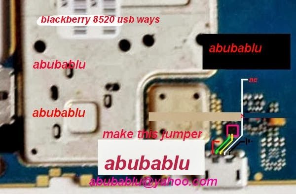 BLACKBERRY  8520 USB WAYS