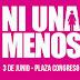 #NiUnaMenos: Se espera una masiva convocatoria a la marcha frente al Congreso contra los femicidios y la violencia de género