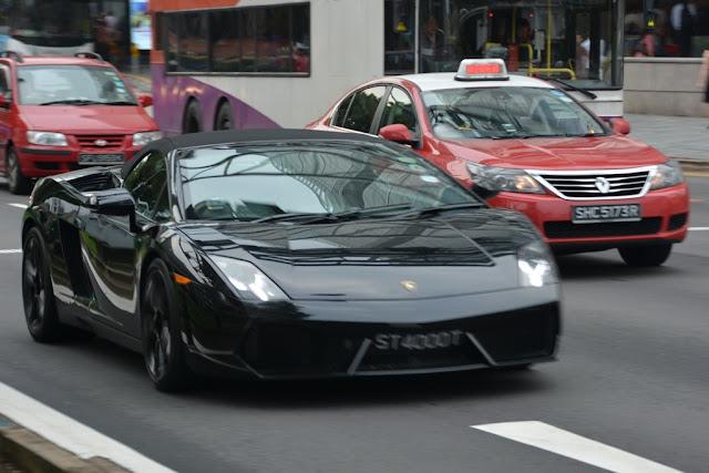 Singapore Lamborghini