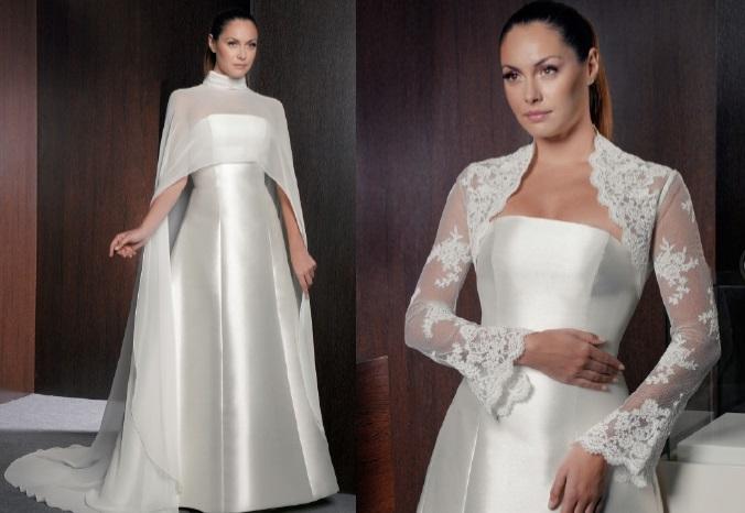 una novia diferente: chaquetas y boleros novia 2013: charo peres