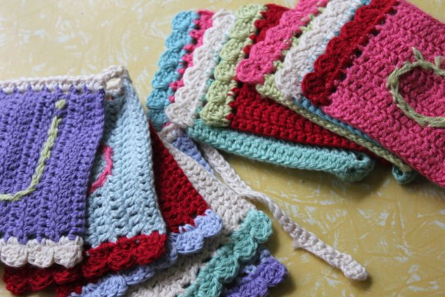 Little Woollie Summer Crochetme Bunting