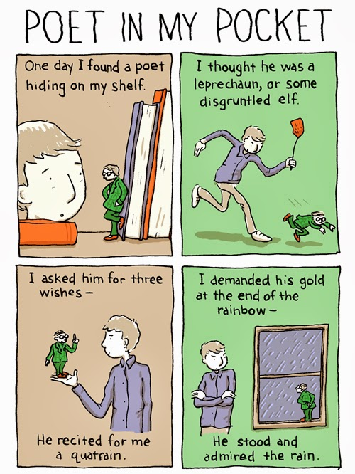 Poet in My Pocket from Grant Snider