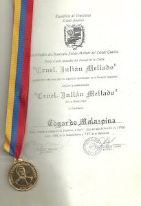 ORDEN JULIÁN MELLADO