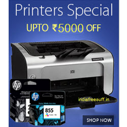Amazon :  Printers upto 40% off from Rs.1649