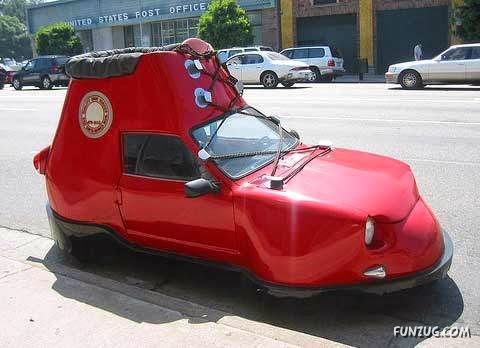 Gambar Mobil Lucu