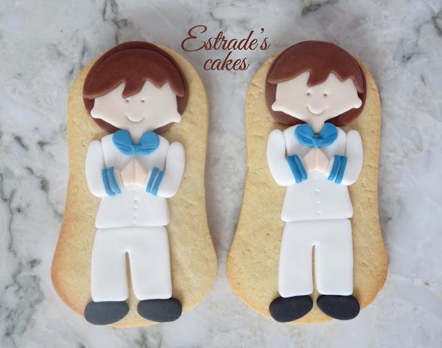 galletas de niño de Comunión 1