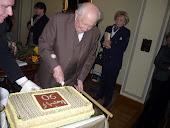 90 éves születésnapi torta