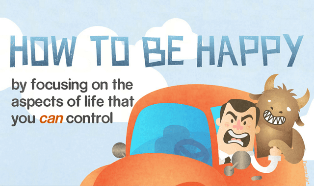 How To Be Happy By Focusing On The Aspects You Control