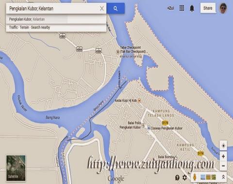 Pengkalan Kubor Map