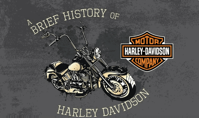 Image: A Brief History of Harley Davidson #infographic