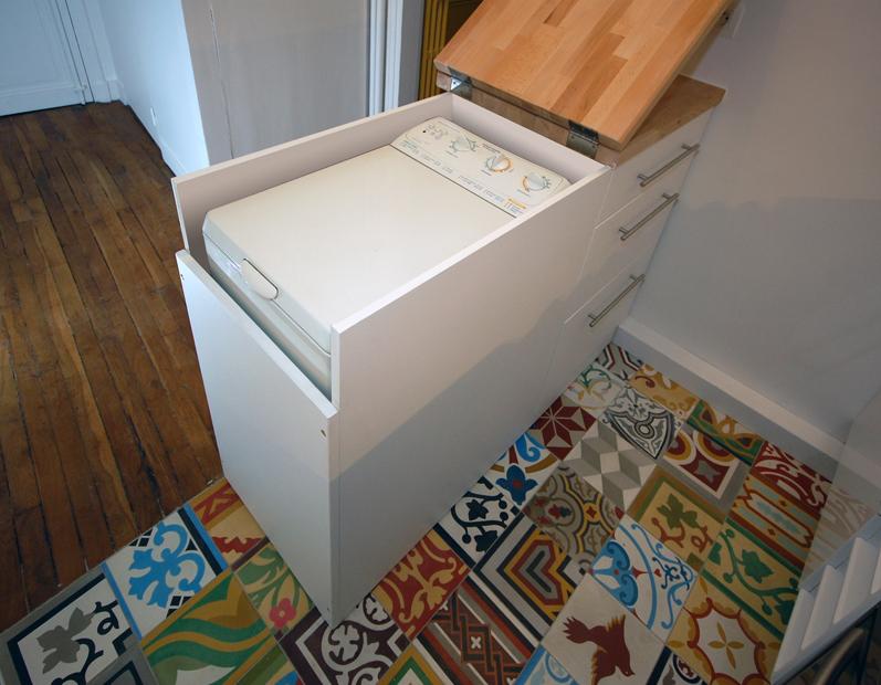 Marta decoycina baldosas hidraulicas aire antiguo para un concepto moderno - Petit lave linge pour studio ...